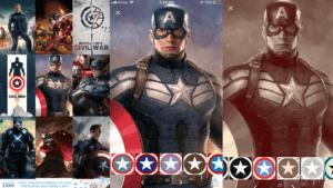 Captain America Wallpaper App: Customizing and Saving Options