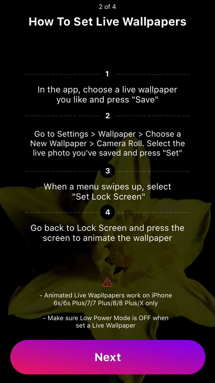 create dynamic wallpaper iphone xr