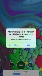 Live Wallpapers & Themes Push Notifications