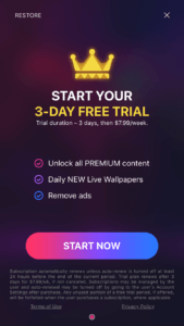 Live Wallpapers & HD Themes - Start Your 3-Day Free Trial