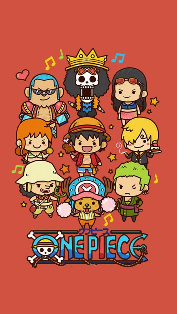 Chibi iPhone Anime Wallpaper