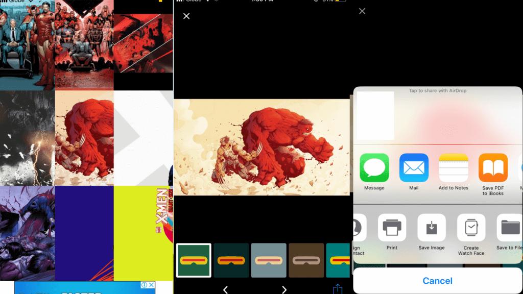 X-Men Wallpaper App