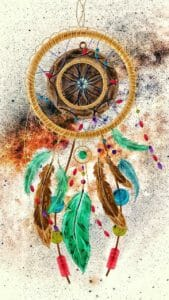 Illustrated Dream Catcher