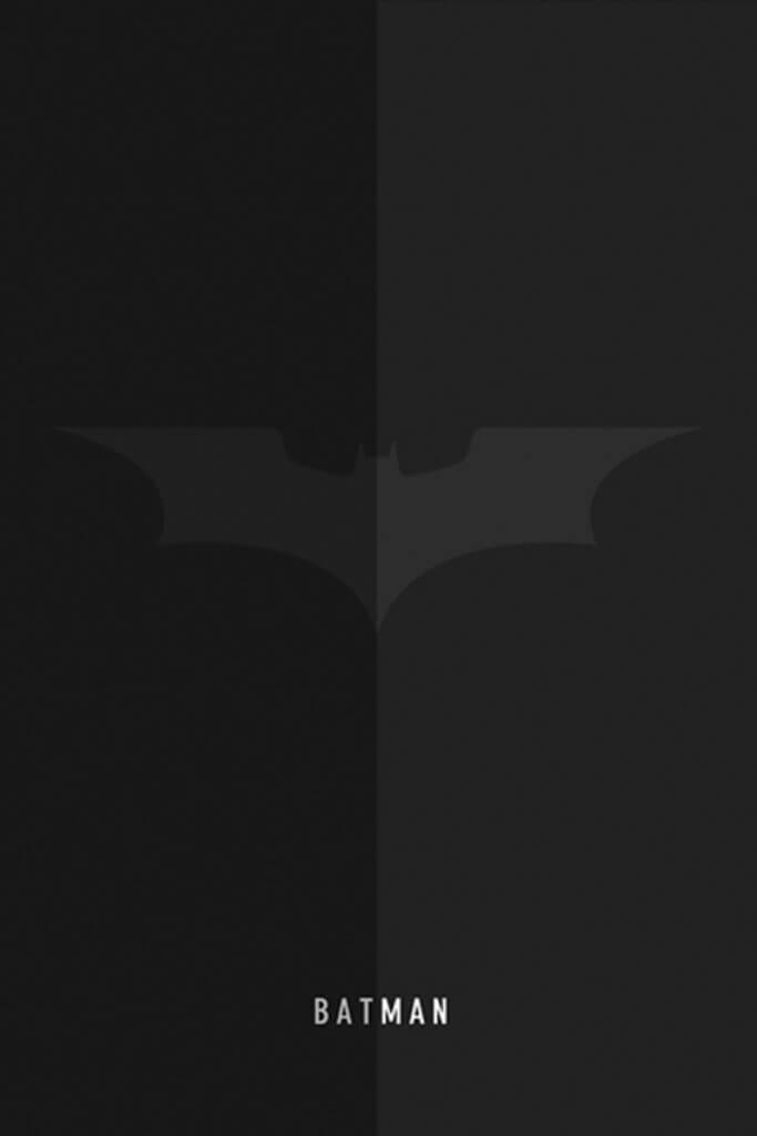 batman logo wallpaper iphone