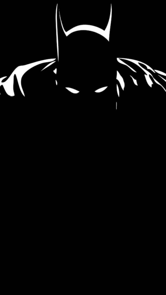 batman minimalist wallpaper iphone