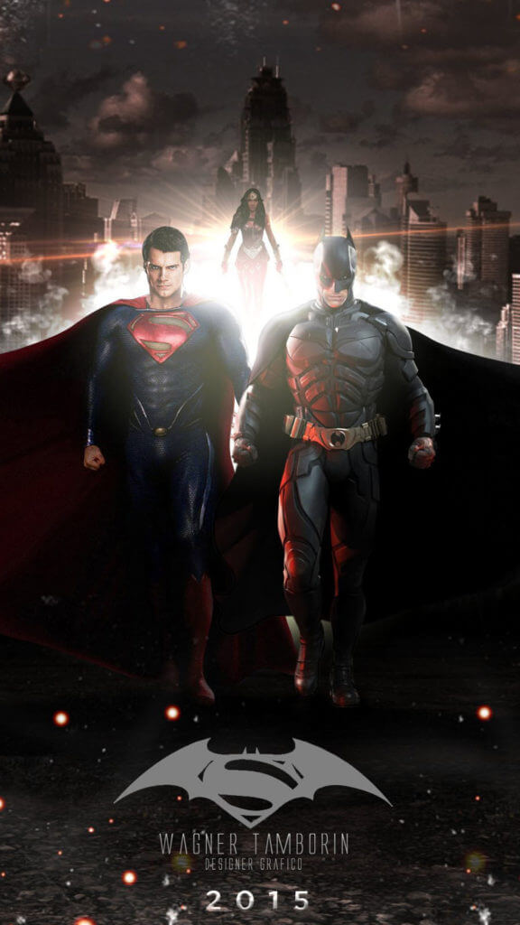 iphone wallpaper batman vs superman