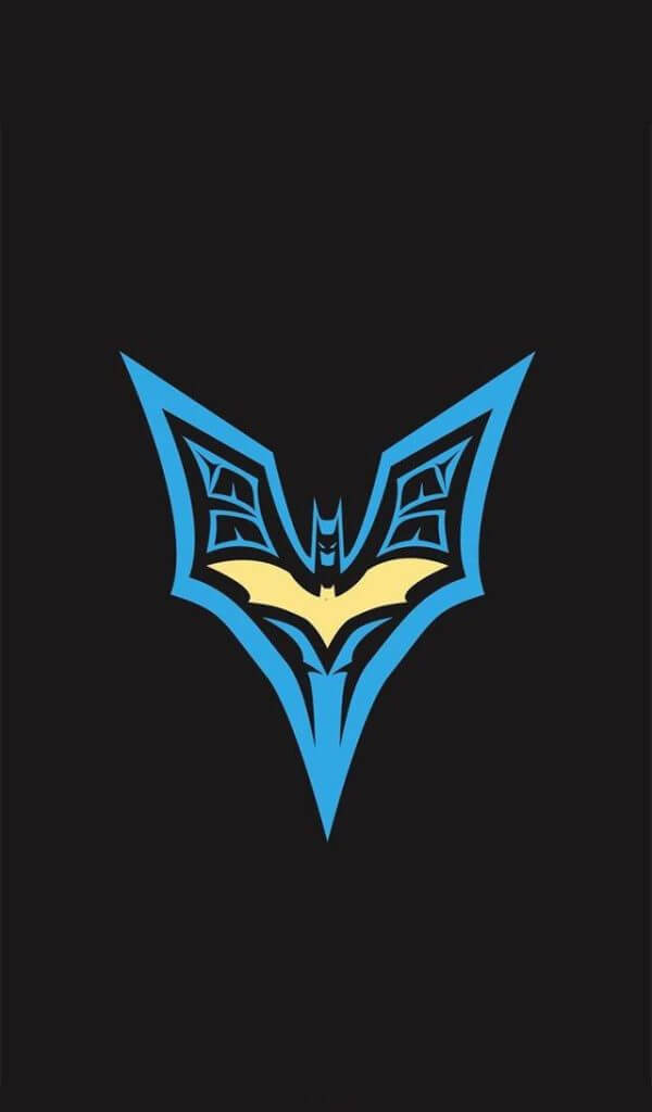 Logo iPhone wallpaper Batman