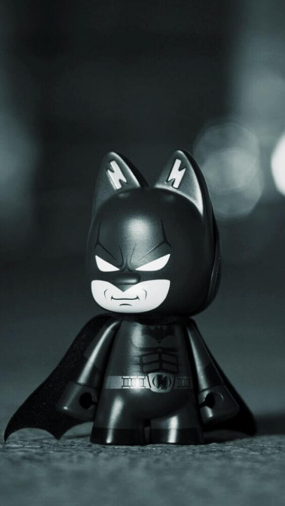 Figurine Batman Cute Wallpaper