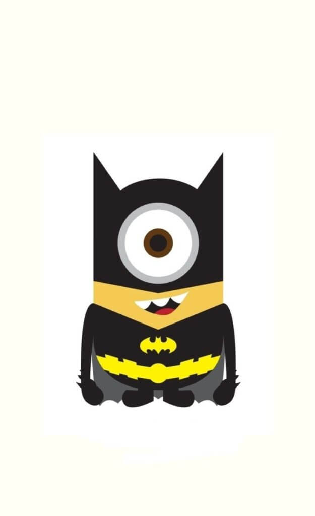 batman minion iphone wallpaper