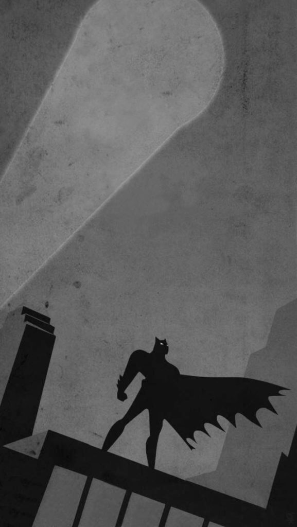 Batman Silhouette iPhone wallpaper