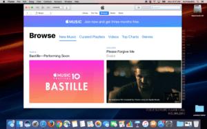 Launch iTunes