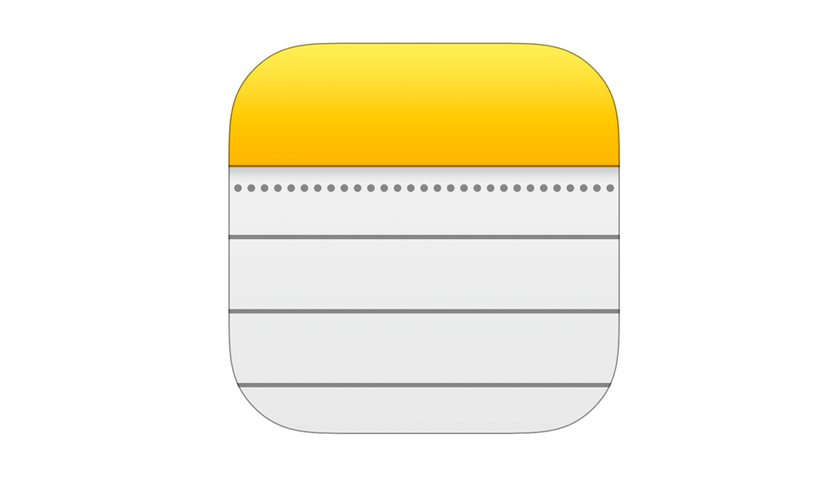 iPhone and iPad Notes App