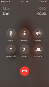 First Call Put On Hold & Second On-Going Call