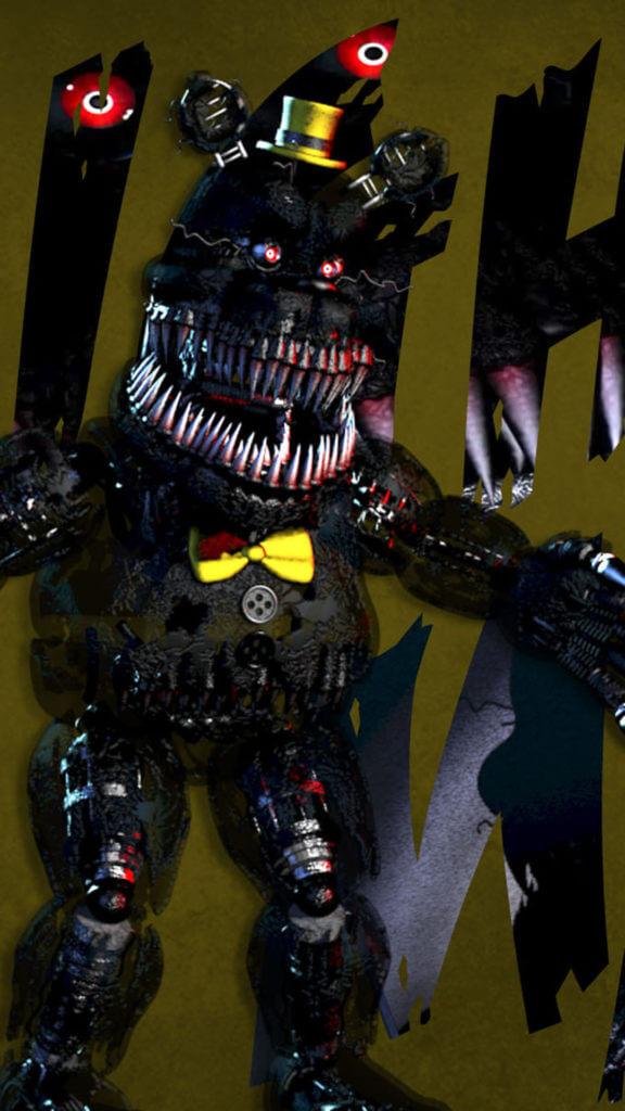 Scary Freddy Fazbear
