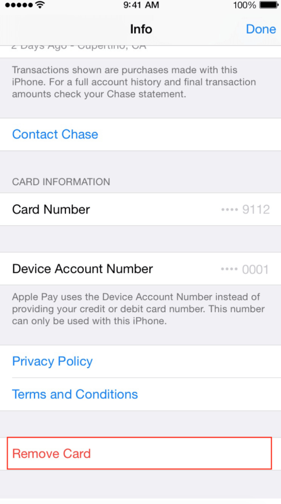 Remove Card From iPhone