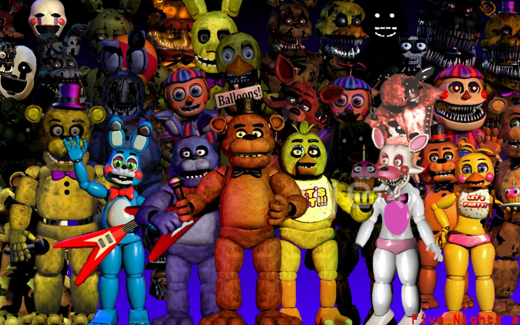 15 Best Fnaf Wallpapers For Iphone Xs X 8 7 6 Joy Of Apple