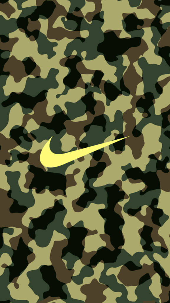 Green Camouflage x Nike