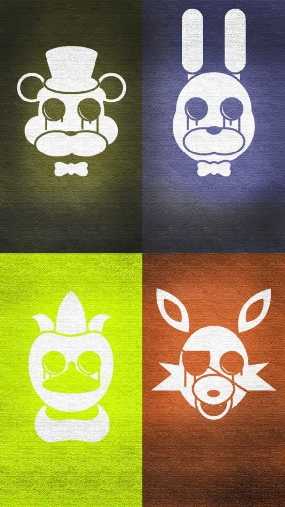 FNaF Character Heads