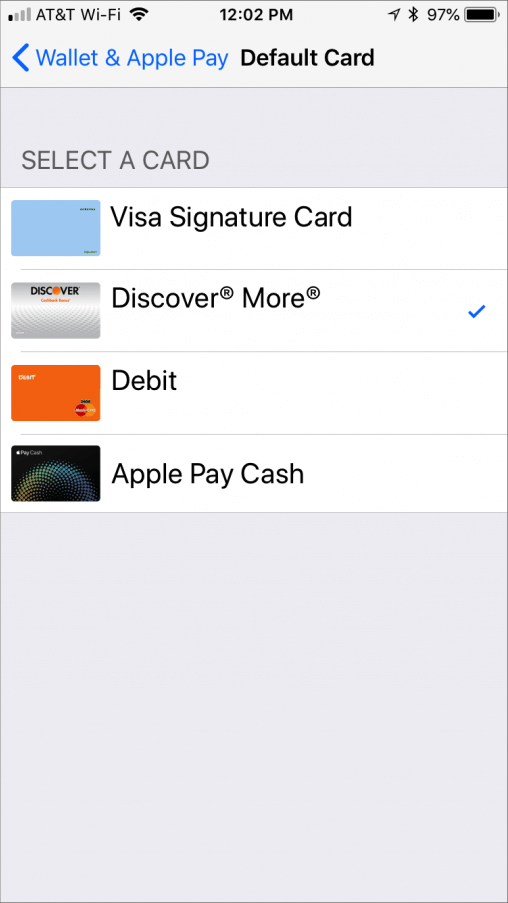 Credit Cards Link To The iPhone