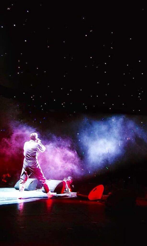 Logic on Concert Stage