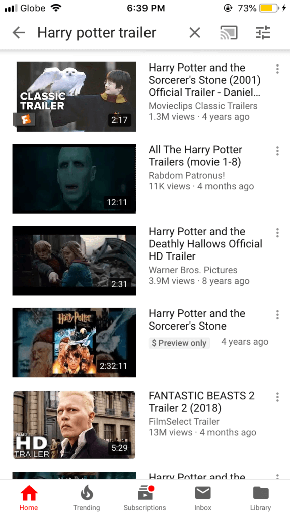 Select Video To Download On Youtube
