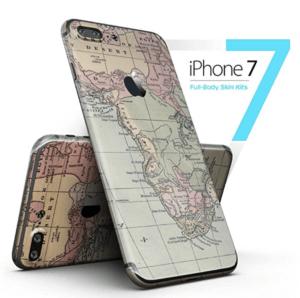World Map iPhone 7 Skin