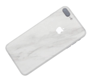 White Marble iPhone 8 Plus Skin