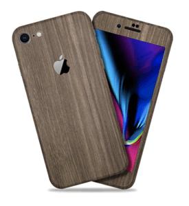 Brown Wood iPhone 8 Skin