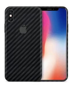 Carbon Fiber iPhone X Skin
