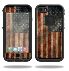 Vintage Flag iPhone 4 Skin