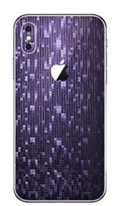 Camelion Purple iPhone X Skin