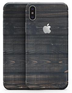 Vertical Woodgrain iPhone X Skin