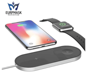 EURPMASK 2-in-1 Wireless Charger
