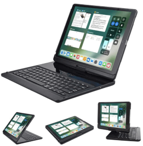 Lenrich Swivel Smart Keyboard Case