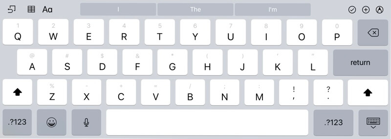 iPad Keyboard Flip Trick
