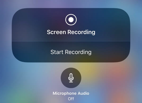 iPhone Screen Recording Feature