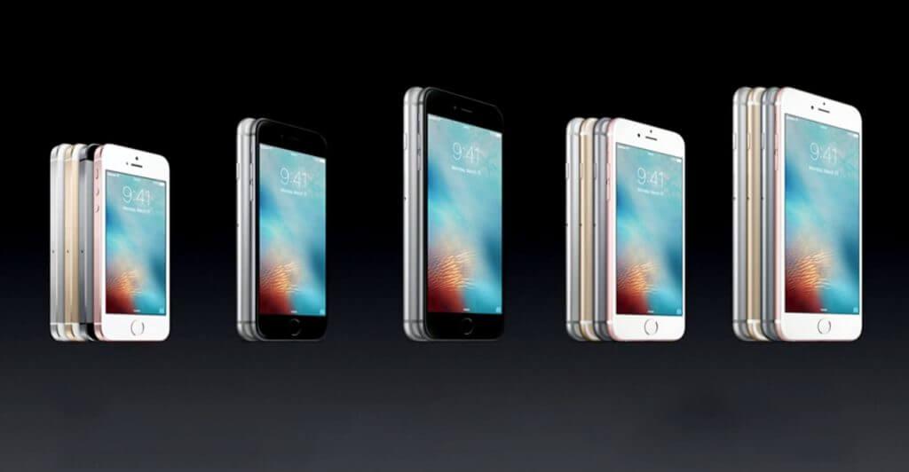 iPhones Lineup
