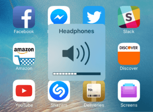 iPhone Headphones Mode