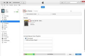 Sync Movies To iPad