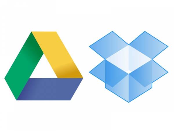Google Drive And Dropbox