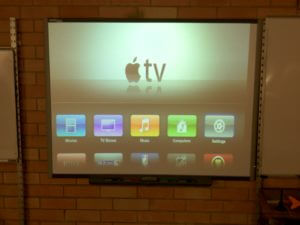 Apple TV Display On Projector