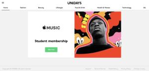 Unidays Website
