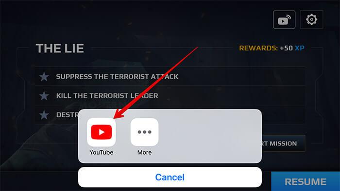 Stream To YouTube