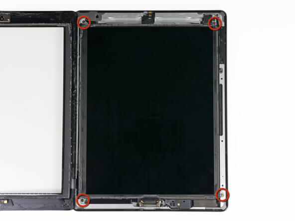 Screw Back LCD