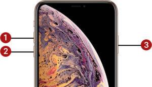 Force Restart iPhone XS & iPhone XS Max