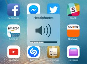 iPad Headphones Mode