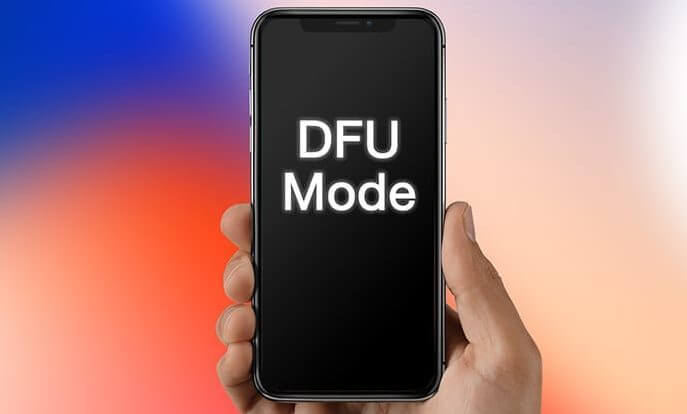 DFU On iPhone X