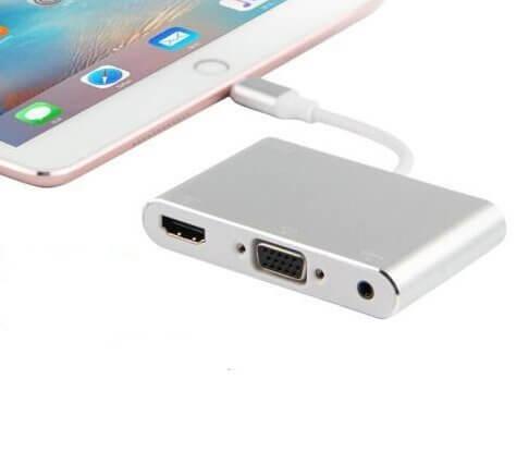 VGA Or HDMI iPad Adapter
