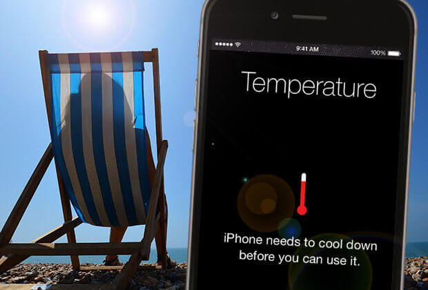 Keep iPhone In Room Temperature