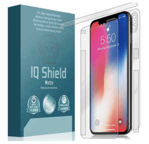 IQShield Matte Glass Full Body Screen Protector